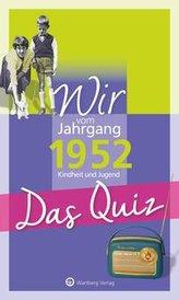 Wir vom Jahrgang 1952 - Das Quiz