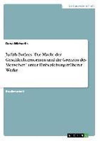 """Judith Butlers \""""Die Macht der Geschlechternormen und die Grenzen des Menschen\"""" unter Einbeziehung früherer Werke"""