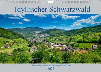 Idyllischer Schwarzwald (Wandkalender 2022 DIN A4 quer)