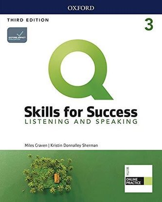 Q Skills for Success 3 Listening & Speaking Student´s Book with iQ Online Practice, 3rd