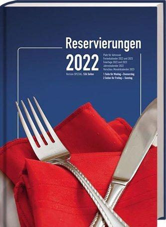"""Reservierungsbuch \""""Spezial\"""" 2022"""