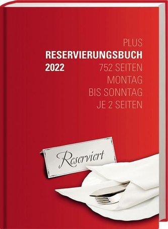 """Reservierungsbuch \""""Plus\"""" 2022"""