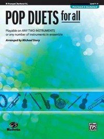 Pop Duets for All: B-Flat Trumpet, Baritone T.C.