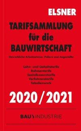 Tarifsammlung für die Bauwirtschaft 2020/2021