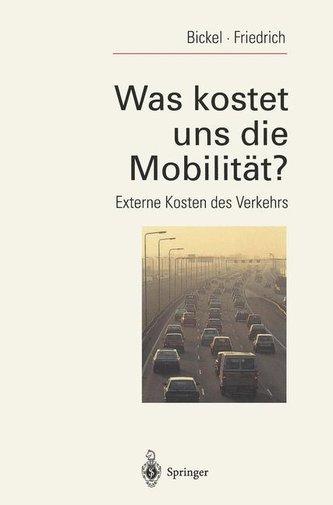 Was kostet uns die Mobilität?