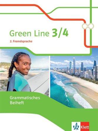 Green Line 3/4. Ausgabe 2. Fremdsprache. Grammatisches Beiheft Klasse 8