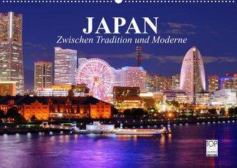 Japan. Zwischen Tradition und Moderne (Wandkalender 2022 DIN A2 quer)