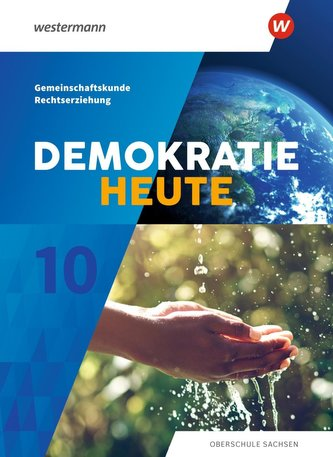 Demokratie heute 10. Schülerband. Für Sachsen