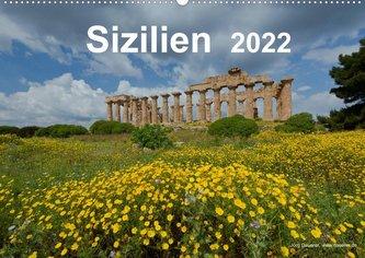 Sizilien 2022 (Wandkalender 2022 DIN A2 quer)