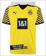 Borussia Dortmund Trikotkalender - Kalender 2022