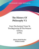 The History Of Philosophy V2