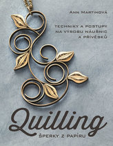 Quilling, šperky z papíru