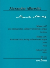 Missa in C pre miešaný zbor, sláčikový orchester a organ