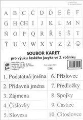 SOUBOR KARET pro výuku českého jazyka ve 2. ročníku