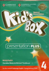 Kid´s Box 4 Updated 2nd Edition: Presentation Plus DVD-Rom