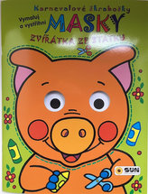 Zvířátka ze statku - Karnevalové škrabošky Masky