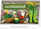 Kalendář stolní 2019  - Zahrádkář, 23,1 x 14,5 cm