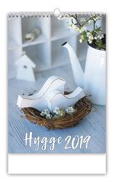 Kalendář nástěnný 2019 - Hygge