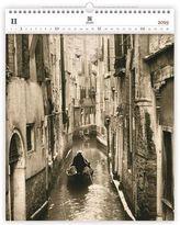 Luxusní dřevěný obrazový kalendář Venezi