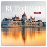 Kalendář poznámkový 2019 - Budapešť, 30 x 30 cm