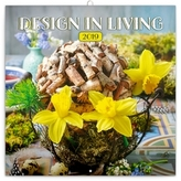Poznámkový kalendář Design in Living 201