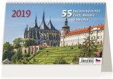 SK19  55 turistických nej Čech, Moravy a Slezk