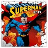 Poznámkový kalendář Superman 2019, 30 x
