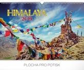 Nástěnný kalendář Himálaje 2019, 48 x 33