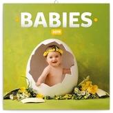 Poznámkový kalendář Babies – Věra Zlevor