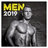Poznámkový kalendář Muži 2019, 30 x 30 c