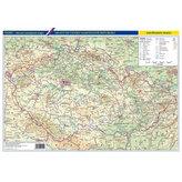 Vývoj českého státu/Česko - obecně zeměpisná mapa, 1 : 1 150 000