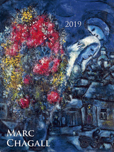 Marc Chagall 2019 - nástěnný kalendář