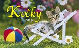 Kočky 2019 - stolní kalendář