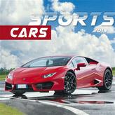 Sports cars 2019 - nástěnný kalendář
