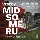 Mrtví v Badger's Drift - Vraždy v Midsomeru - CDmp3 (Čte Vladislav Beneš)