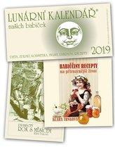 Kalendář 2019 - Lunární 2019 + Babiččiny recepty na přirozenější život + Dvanáctý rok s Měsícem