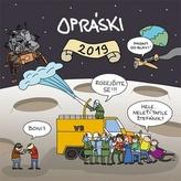 Opráski sčeskí historje - nástěnný kalendář 2019