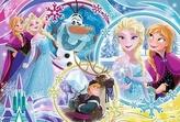 Puzzle Ledové království Země přátelství