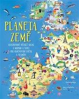 Planeta Země - Ilustrovaný dětský atlas s mapami a videi pro objevování světa a vesmíru
