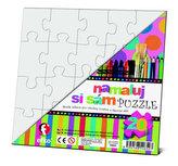 Namaluj si sám puzzle: čtverec