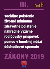 Zákony III-B 2019