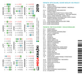 Kalendarzyk Megaksiążki 2019