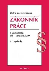 Zákonník práce s účinnosťou od 1. januára 2019, 11. vydanie