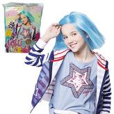 Paruka Lollipopz modrá
