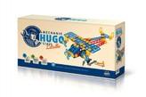 Mechanik Hugo staví Letadlo Seva stavebnice s nářadím 144ks plast v krabici 31x16x7cm