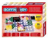 Stavebnice Boffin II. 203 elektronická 203 projektů na baterie 35ks v krabici 40x30x7cm