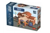 Stavějte z cihel Nádraží stavebnice Brick Trick v krabici 40x27x9cm