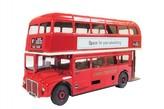 "Autobus Routemaster Bus RM 5 ""Double Decker"" kov 1:36 v krabici 25x13x8cm Kovap"