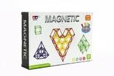 Magnetická stavebnice 99ks v krabici 28x19x5cm