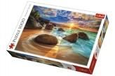 Puzzle Pláž Samudra, Indie 1000 dílků v krabici 40x27x6cm